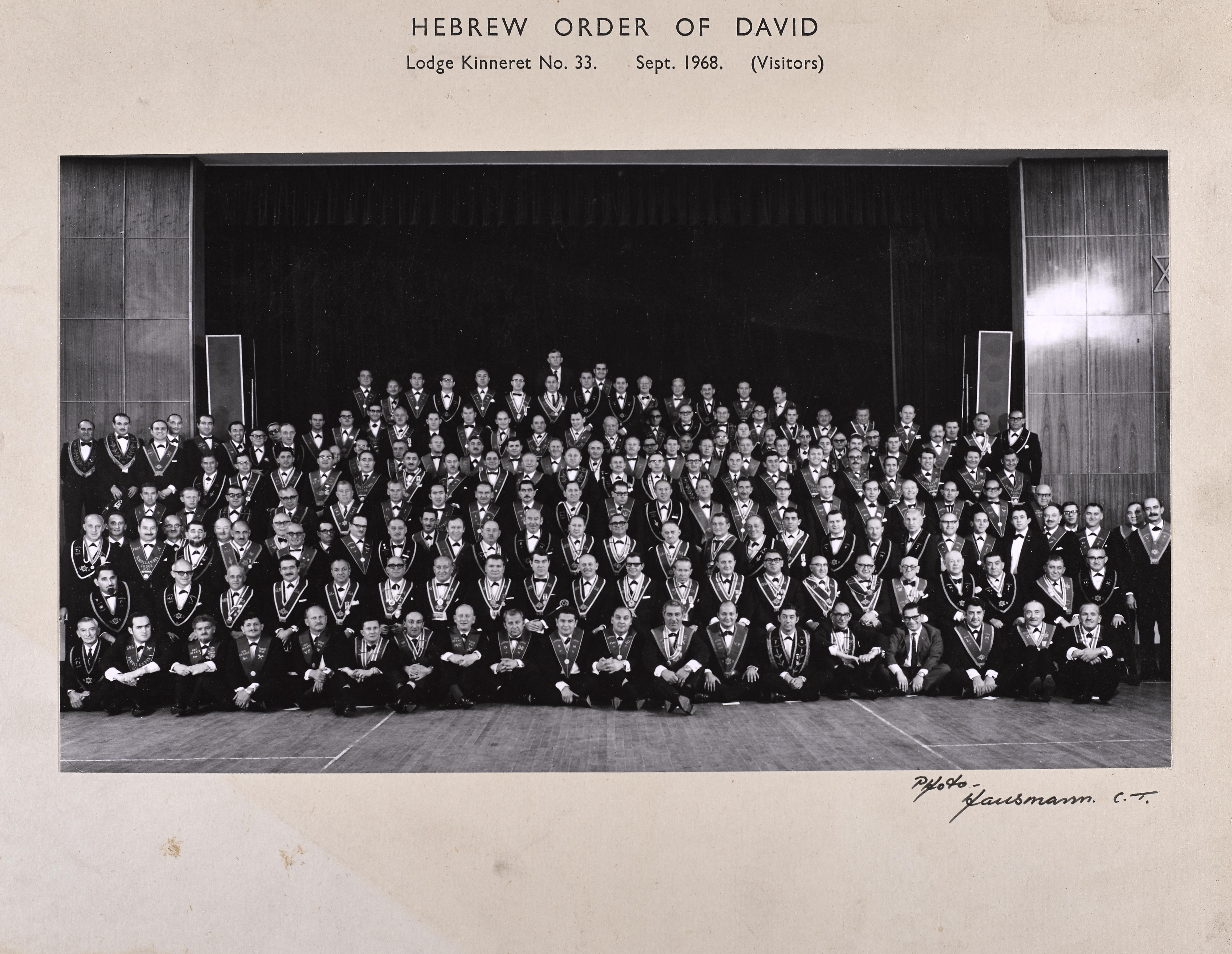 Lodge Kinneret 1968