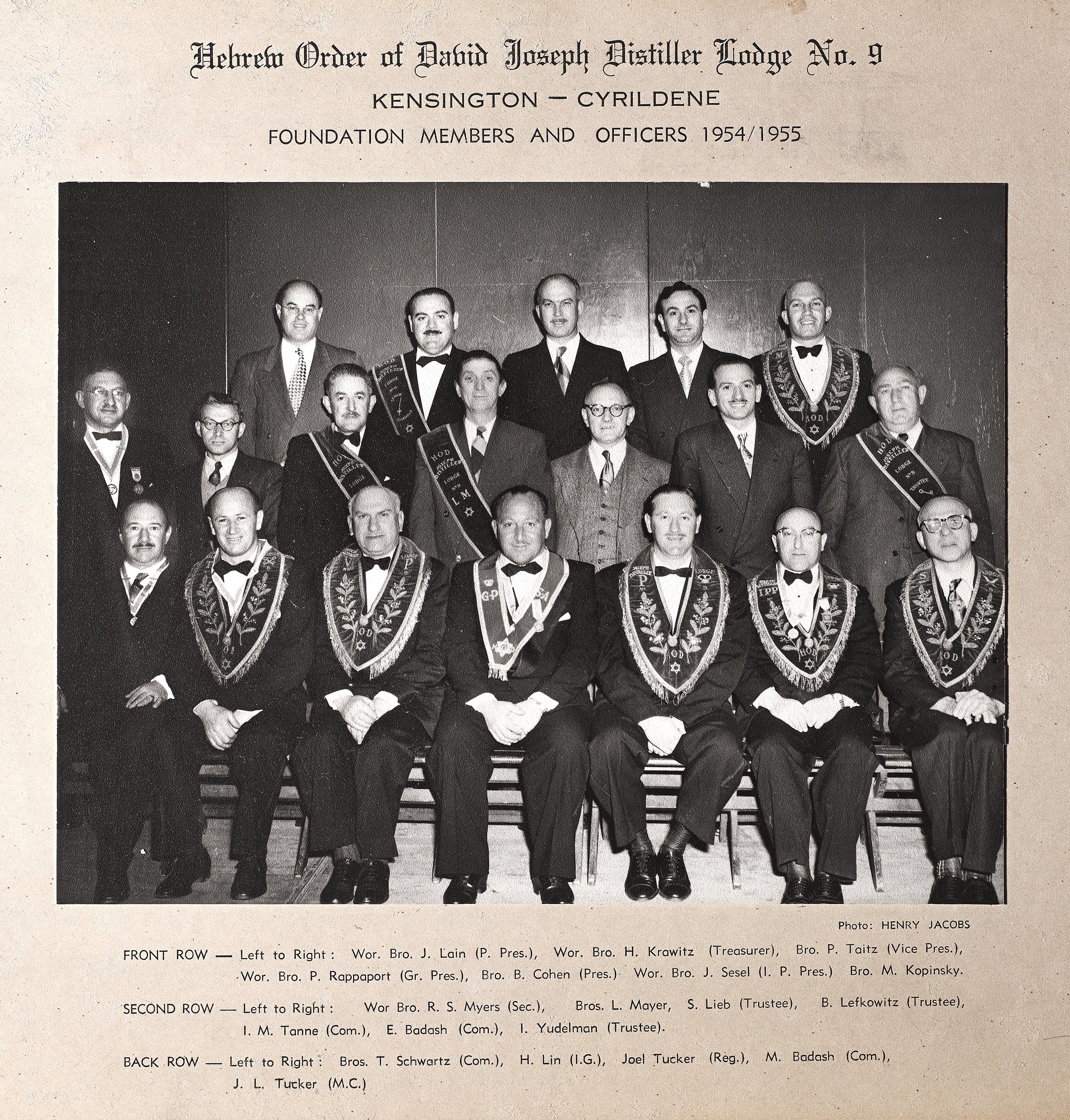 Cyrildene Lodge 1954