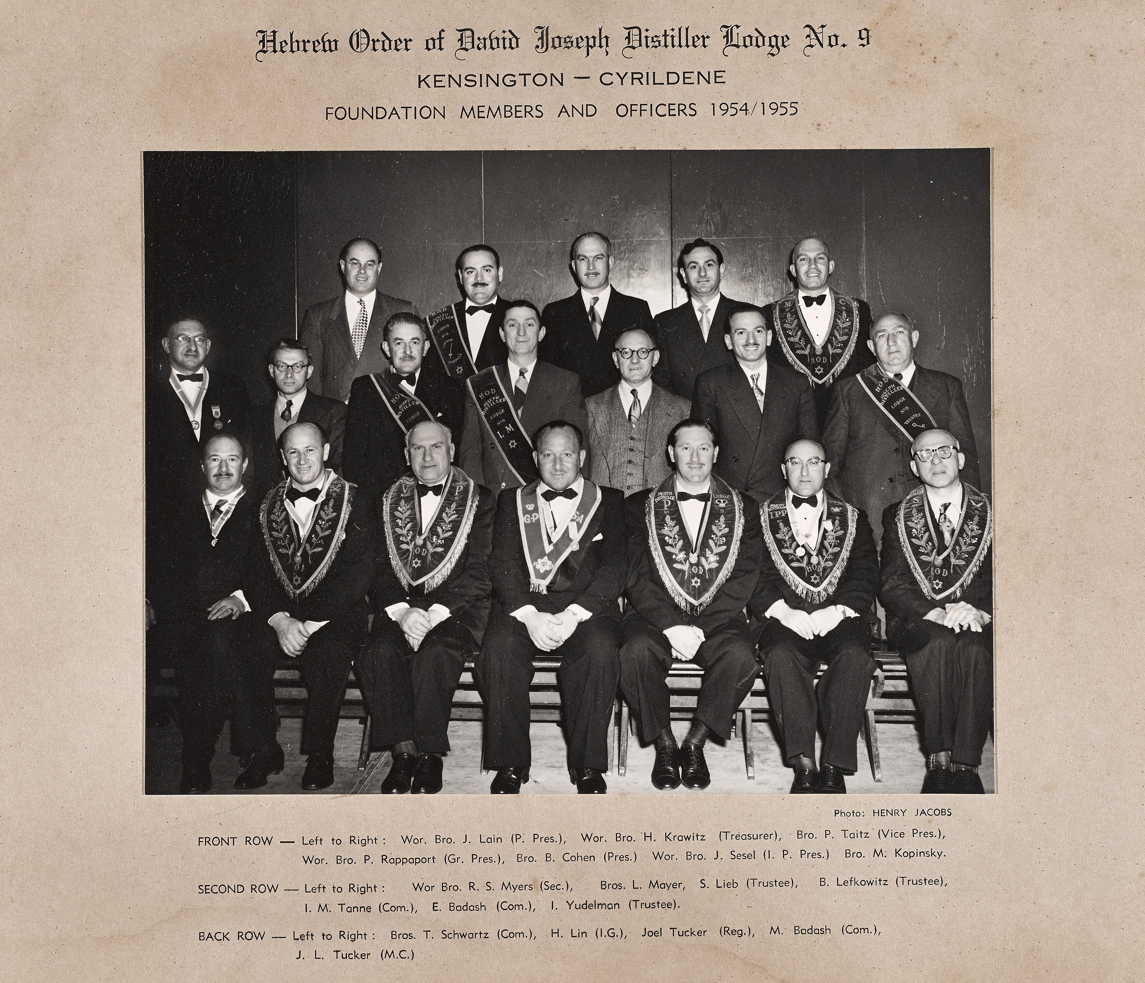 Cyrildene Lodge 1955