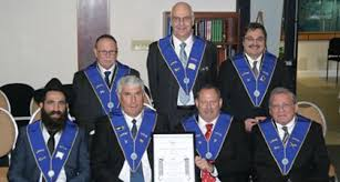 Office-Bearers Lodge Galil Consecration